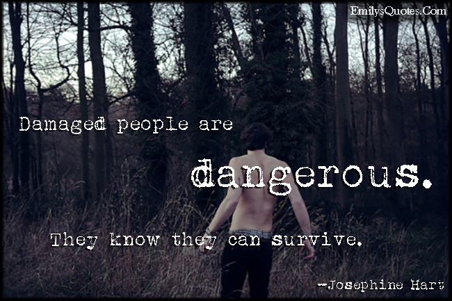 "Ce presupune ""DAMAGED PEOPLE"""